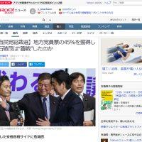 """【自民党総裁選】地方党員票の45%を獲得した石破茂は""""善戦""""したのか"""
